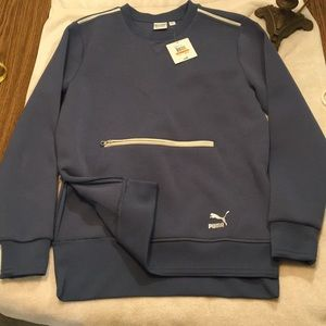 Puma men small archive crew sweatshirt